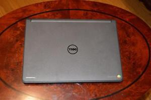 Dell Chromebook 4 GB RAM / 16 GB SSD *** GREAT DEAL!  GET ON THE INTERNET FAST!!! ***