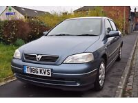 VAUXHALL ASTRA 1.4 I 16V LS 5DR PETROL ( LOW MILEAGE. FULL SERVICE HISTORY