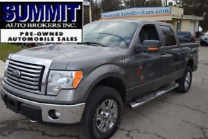2011 Ford F-150 XLT , XTR CREW 4X4 SHORT BOX