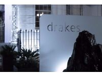 night manager/ porter required for drakes boutique hotel