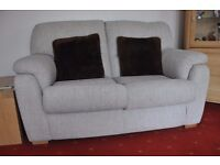Lounge suite - 2 Manual Recliners + 2-seater settee just over 2 years old.