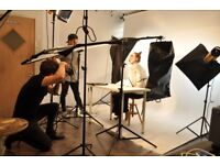 Cheap Photographic /Photography & Video /Studio Hire /Hackney /From £9.00/hr/Full Day-£72 inc Lights