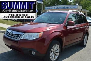 2012 Subaru Forester 2.5X Touring Package/PANO ROOF/BLUETOOTH