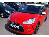 Citroen DS3 E-HDi Dstyle Plus 3dr (red) 2013