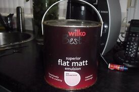 "NEW TIN OF WILKO BEST PINK ""ELEGANT ROSE"" EMULSION PAINT 2.5L COST £15"