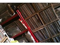 large vinyl record collection house dance rave old skool disco funk soul rock pop reggae jazz