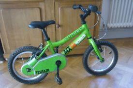 Green Ridgeback MX14 Terrain kids bike