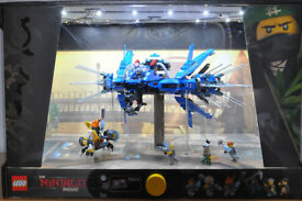 Lego 70614 Lightning Jet Ninjago Movie Shop Display