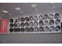 **LARGE SELECTION OF NEW ALLOYS FOR VW,AUDI,SEAT BMW** (FINANCE AVAILABLE)