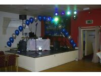 Mobile Disco Karaoke Singer, for hire for any events. Wedding Dj available with good lighting