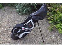 EEE3ZZZ (Ping Copies) Perimeter Weighted Golf Iron Set inc. Woods, Putter & Dunlop Golf Bag