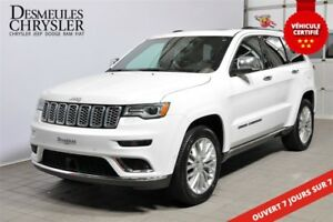 2017 Jeep Grand Cherokee Summit**TOP OF THE LINE**SUSPENSION À L