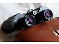Carl Zeiss Jena Binoculars 8x30 Jenoptem Multi Coating. Leather case