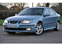 2007 Saab 9-3 1.9 TiD Vector Sport Anniversary 4dr+DIESEL+6 SPEEDS+12 MONTHS MOT+FULL LEATHER