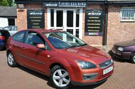 FORD FOCUS 1.6 ZETEC CLIMATE 16V 3d AUTO 101 BHP AUTO!! 3 OWNERS / 2 KEYS LOW MILES (red) 2006