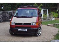 VW T4 Camper 2.5tdi FSH 73k miles!!!