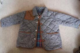 Next Boys Heritage Autumn/Winter Jacket 18-24 months