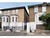 Goldhawk Road -contemporary one-bedroom lower ground floor apartment,