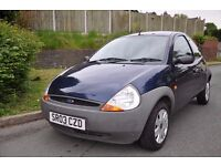 Ford ka 1.3 petrol 2003 *FSH* *1 owner*