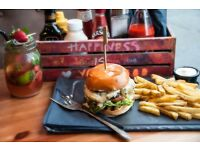 Grill Chef / Head Chef - Gourmet Burger Restaurant -Bricklane