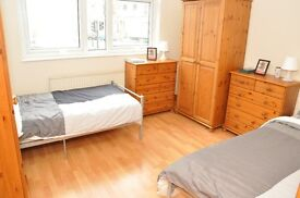 MOVE ASAP** HUGE Twin room in MAIDA VALE ** Perfect for 2 friends** OPEN VIEWING TODAY