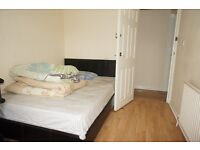 Furnished double bedroom in a shared house on Park Road in Stanwell, Staines