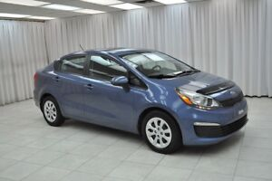 2016 Kia Rio LX GDi 6SPD SEDAN w/ BLUETOOTH, A/C & USB/AUX PORT