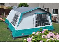 Lichfield 6-berth Frame Tent including 3-bedroom inner tent - Little Used, Excellent Condition