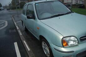 2002 Nissan Micra S 1.0