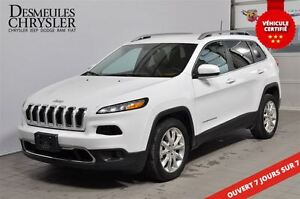 2016 Jeep Cherokee LIMITED**CUIR**CAMÉRA**MAGS
