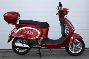 Saga Quest 50cc 4-Stroke Gas Scooter