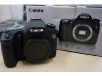 Canon EOS 70D 20.2 megapixels *As New*