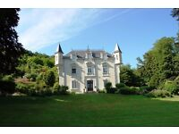 Housekeeping, Gardening couple, Guardians - Private Chateau Loire Valley France - Holiday Rental