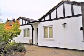 2 Bedroom detached bungalow to rent, Off street parking behind electric gate.