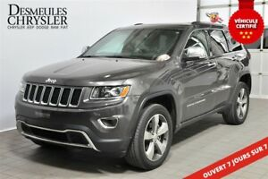 2016 Jeep Grand Cherokee Limited**TOIT**DÉMARREUR**GPS**