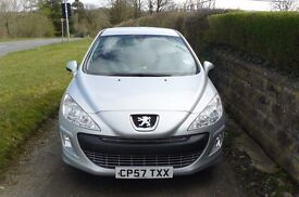 Peugeot 308 Sport HDI 110 Diesel. One owner, spotless inside and out. 10 months MOT