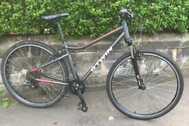 Unisex BTWIN Riverside 500 mountain hybrid bike, Like New!