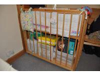 Custom-made co-sleeper crib