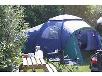 Tent - Khyam Ultradome six-berth tent