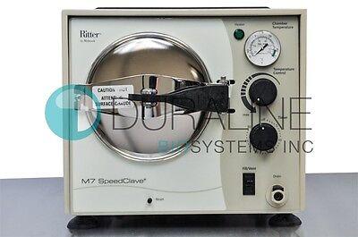 Ritter Midmark M7 Speedclave Ns Sterilizer Autoclave Refurbished Wwarranty