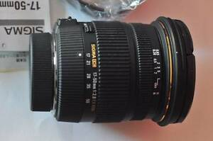 SIGMA 17-50mm f/2.8 EX DC OS HSM FOR NIKON Made in Japan Coburg North Moreland Area Preview