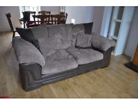 2 double-seater sofas for sale. £35 each or £60 for both.