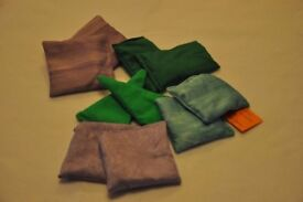 ****ONLY 24 DAYS TO XMAS**** hand made little hand warmers 50p each