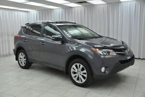2013 Toyota RAV4 LIMITED AWD SUV w/ HEATED LEATHER, DUAL CLIMATE