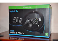 *BRAND NEW* Logitech Driving Force G920 Racing Steering Wheel for Xbox, Xbone, PC