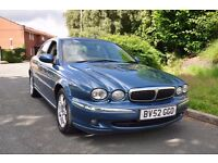 JAGUAR X-TYPE 2002, 4 door saloon, Excellent Runner