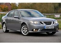 2007 Saab 9-3 1.9 TiD Vector Sport 4dr+DIESEL+FREE WARRANTY+FULL SERVICE HISTORY+6 SPEEDS+LONG MOT