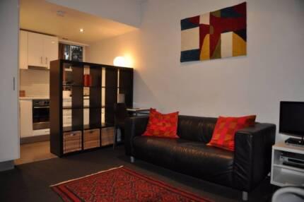 $160.00 avg per night.  Furnished Studio  Woolloomooloo Location