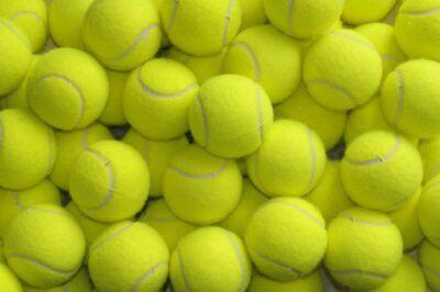 Set 36 Palle Palline Da Tennis Gialle Confezione Tennis Racchettoni Sport hmj