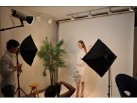 Photo, Photography, Video Studio Hire, Dalston -'CHEAPEST' rates From £9.00/hr -3min Haggerston Stn.
